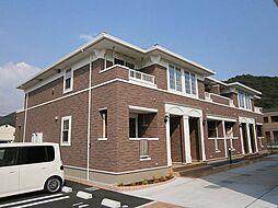 兵庫県姫路市広畑区蒲田3丁目の賃貸アパートの外観