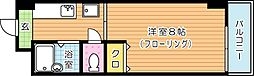 パークハウス八幡[7階]の間取り