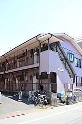 東京都江戸川区中葛西4丁目の賃貸アパートの外観