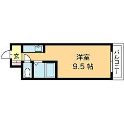 北海道札幌市東区北十八条東4丁目の賃貸マンションの間取り
