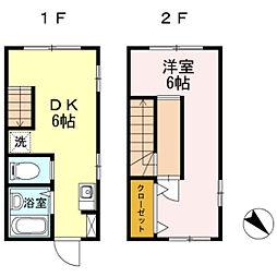 福岡県福岡市南区長住7丁目の賃貸マンションの間取り