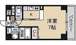 ラ・フォルテ新大阪[3階]の間取り