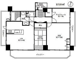 エステムプラザ神戸元町・海岸通[8階]の間取り