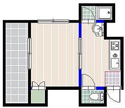 スウィング大濠[4階]の間取り