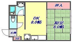 マンション板倉[4階]の間取り