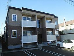 北海道札幌市豊平区福住二条9丁目の賃貸アパートの外観