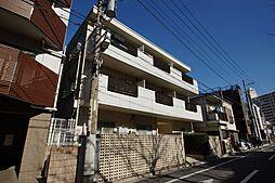 東京都大田区新蒲田1丁目の賃貸マンションの外観