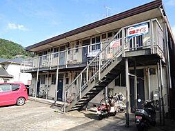 京都府京都市山科区四ノ宮小金塚の賃貸アパートの外観