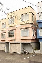 北海道札幌市中央区北二条西21丁目の賃貸アパートの外観