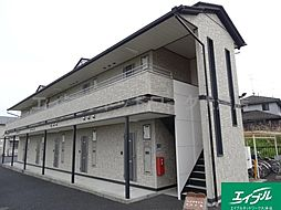 滋賀県大津市比叡辻2丁目の賃貸アパートの外観
