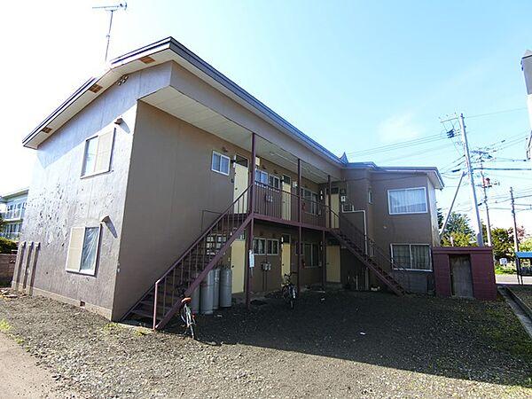 新堂マンション[1階]の外観
