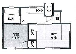 [一戸建] 東京都多摩市一ノ宮1丁目 の賃貸【/】の間取り