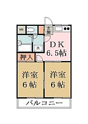 パークメゾン88 A棟[102号室]の間取り