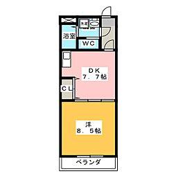 E−STAGE I[1階]の間取り