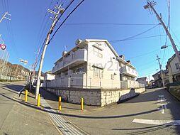 大阪府池田市畑4丁目の賃貸アパートの外観