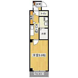 ドムスタレイア[4階]の間取り