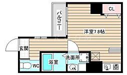ボナールIZUMI[4階]の間取り