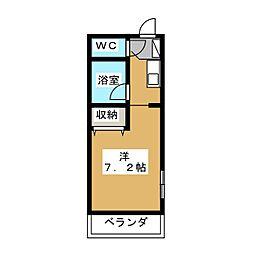 ソニックスマンション[3階]の間取り