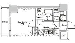 ラフィスタ大師前III[4階]の間取り