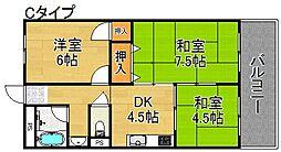 塩田マンション[3階]の間取り