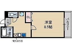 Jクレスト総持寺[1階]の間取り