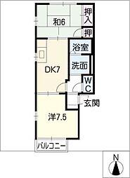 福楼[1階]の間取り