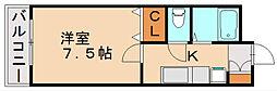メゾンウイステリア[2階]の間取り