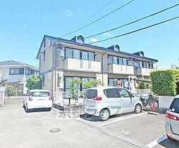 京都府京都市西京区嵐山朝月町の賃貸アパートの外観