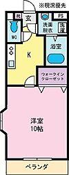 リラコート[3階]の間取り