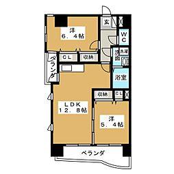 新栄Grand M[10階]の間取り