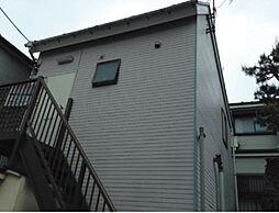 神奈川県横浜市神奈川区旭ケ丘の賃貸アパートの外観
