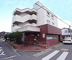 京都府八幡市八幡山路の賃貸マンションの外観