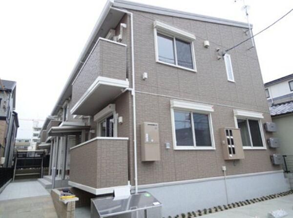 広島県広島市南区東雲1丁目の賃貸アパートの外観