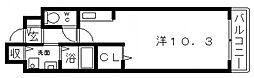 サルドゥセジュール[1階]の間取り