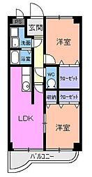 エトワール ヒトミ[0401号室]の間取り