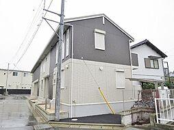 静岡県沼津市東間門の賃貸アパートの外観