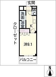 シエル・K[2階]の間取り