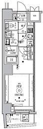 東京メトロ南北線 東大前駅 徒歩2分の賃貸マンション 2階1Kの間取り