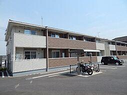 広島県福山市新浜町1丁目の賃貸アパートの外観