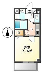 サニーウェル21[4階]の間取り