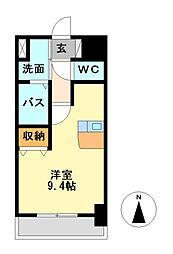 プレサンス名古屋城前[10階]の間取り