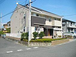 埼玉県入間郡越生町上野東1丁目の賃貸アパートの外観