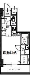 S-RESIDENCE南堀江 10階1Kの間取り