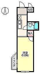 サンモア203[2階]の間取り