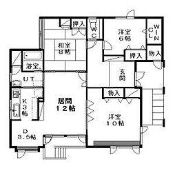 [一戸建] 北海道札幌市西区琴似四条7丁目 の賃貸【/】の間取り