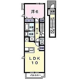 プリムローズ・M[2階]の間取り