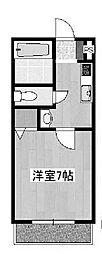 神奈川県川崎市麻生区千代ケ丘4丁目の賃貸マンションの間取り