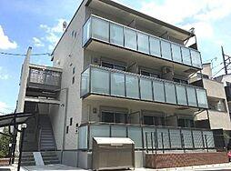 東京都世田谷区大蔵1丁目の賃貸アパートの外観