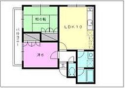 UIマンション第2[302 号室号室]の間取り