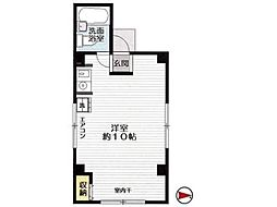 AKビル[4階]の間取り